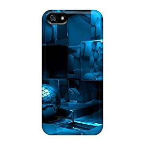 Defender Case With Nice Appearance (the Cube) For Iphone 5/5s
