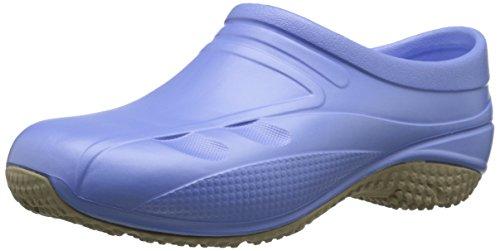 - Anywear Exact Work Shoe, Ciel Blue, 10 M US