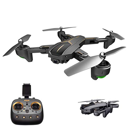 MOZATE VISUO XS812 GPS 5G WiFi FPV 5MP 1080P Wide Angle HD Camera Foldable RC Quadcopter Drone + Two Battery (Black, B) by MOZATE (Image #5)