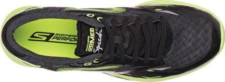 Skechers Go Meb Speed 3, Hombrs Zapatillas Running - negro/verde (BKGR), hombre, 45 EU
