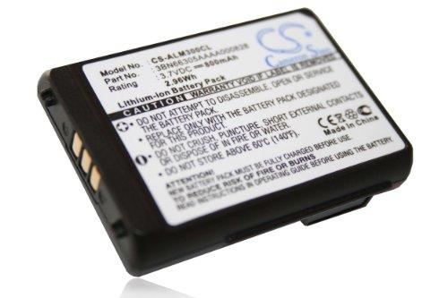 vhbw Li-Ion Akku 800mAh (3.7V) für schnurlos Festnetz Telefon Alcatel Mobile 300 DECT, Mobile 400 DECT wie 3BN66305AAAA000828.