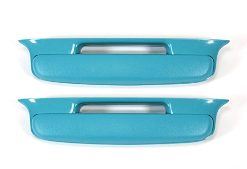 Mutton Hollow Chevys 57 Chevy Bel Air Armrest Turquoise Pair