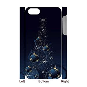 Iphone 4,4S Christmas 3D Art Print Design Phone Back Case DIY Hard Shell Protection FG096354