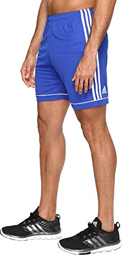 adidas Men's Soccer Squadra 17 Shorts, Bold Blue/White, X-Large -