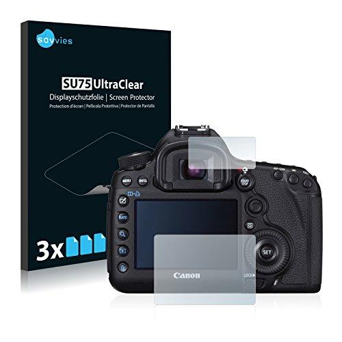 6x Displayschutzfolie für Canon EOS 5D Mark III Folie Schutzfolie Displayfolie - Klar
