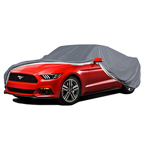 2017 Mustang Cobra - OxGord Custom Fit Car Cover for Select Ford Mustang - Executive Storm-Proof Water-Proof 7 Layers -Developed for Any All Conditions