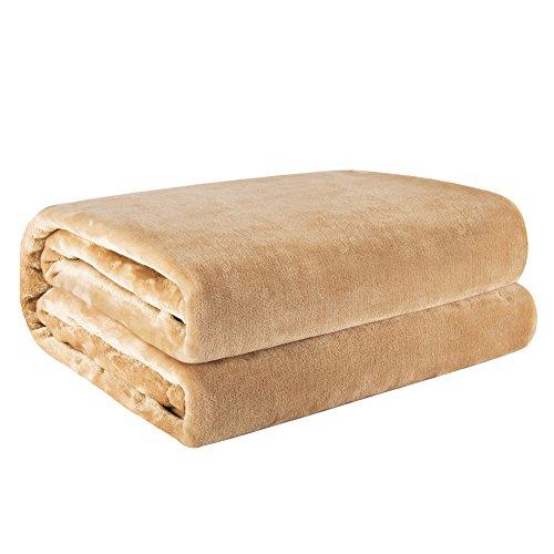 Fairpeak-Luxury Fleece Blanket Super Soft Blanket Bed Warm Blanket Couch Blanket for All Season-V16 (Couches Super Cheap)
