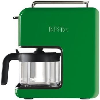 Kenwood CM 025 kMix - Cafetera de goteo (6 tazas), color verde: Amazon.es: Hogar