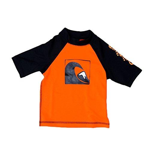 Quiksilver Pop - Quiksilver Infant Main Peak SS Wetsuit Sz. 18M Black/Orange Pop