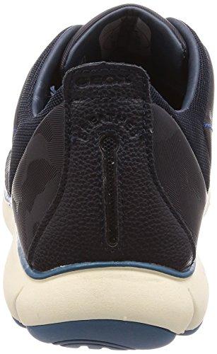Nebula Blau C4002 Herren Sneaker F Geox on Navy Slip U 6xaRvvEywq
