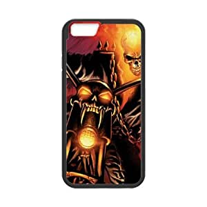 iPhone 6 Plus 5.5 Inch Cell Phone Case Black Ghost Rider Drags Chain BNY_6862830