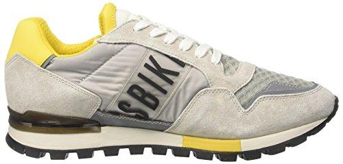Bikkembergs Fend-Er 866, Zapatillas de Estar por Casa para Hombre gris
