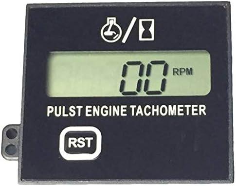 Cobeky nueva gasolina digital motor tac/ómetro inductivo pulso tac/ómetro impermeable con bater/ía para motosierra 2//4 tiempos