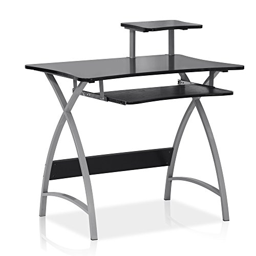Furinno FNBL-22005BK Besi New Office Computer Desk by Furinno