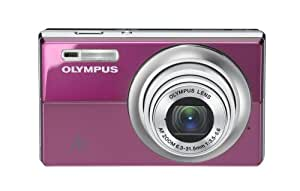 Olympus FE-5010 12MP Digital Camera with 5x Optical Dual Image Stabilized Zoom and 2.7 inch LCD (Plum)