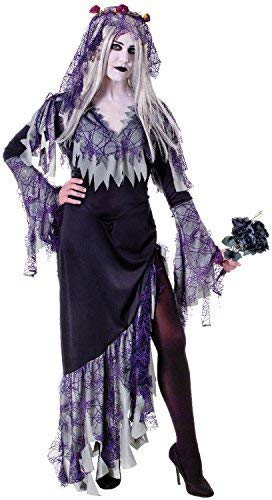 Ladies Zombie Corpse Bride Dead Scary Halloween Horror Fancy Dress Costume Outfit UK 10-14 ()