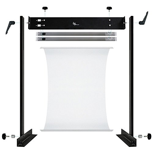 LimoStudio LED E-commerce Business Product Photo Shooting Table Stand Kit with Double LED Light Tube 6500K, Photo Studio, AGG1571 by LimoStudio (Image #6)