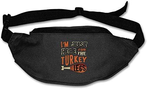 私はちょうどトルコの足ユニセックスアウトドアファニーパックバッグベルトバッグスポーツウエストパック