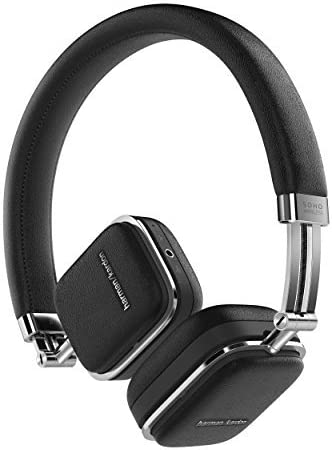 Harman Kardon SOHO WIRELESS sealed wireless on-ear headphones ear cup motion sensor mounted black HKSOHOBTBLK [domestic regular goods]