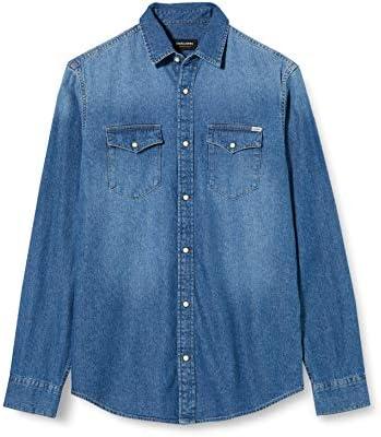 Jack & Jones Jjesheridan Shirt L/S Camisa Vaquera para Hombre: Amazon.es: Ropa y accesorios