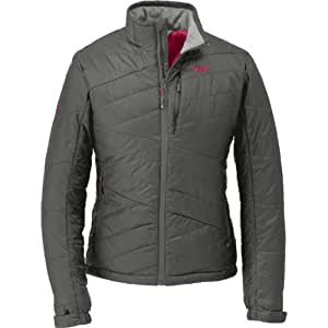 Outdoor Research Breva Jacket - Women's Jackets MD Pewter/Desert Sunrise
