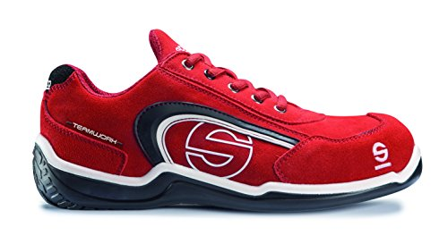 Sparco M291137 - Zapato seguridad sport low rojo talla 46
