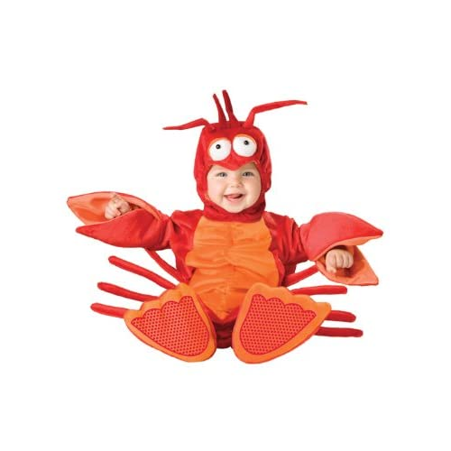 InCharacter Lil' Lobster Infant/Toddler Costume-