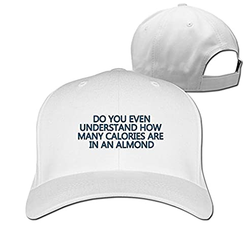 Do You Even Understand How Many Calories Are In An Almond Trendy Hippie Fitted Cap (How Many Calories Do)