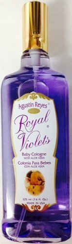 Agustin Reyes Royal with ALOE VERA Violets - Baby Cologne Sp