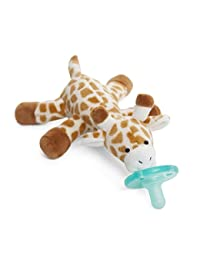 WubbaNub Infant Pacifier - Giraffe BOBEBE Online Baby Store From New York to Miami and Los Angeles