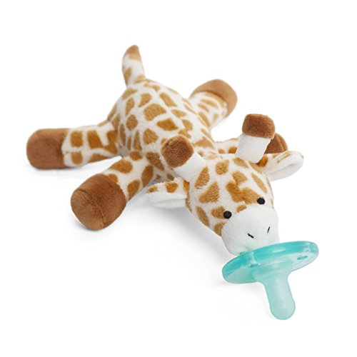 WubbaNub Infant Pacifier - Giraffe (Best Way To Pull A Loose Tooth)