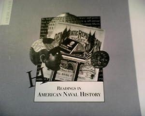 Paperback Readings in American Naval History Book