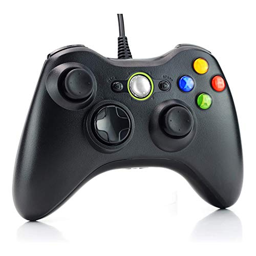 Dhaose Wired Controller for Xbox 360, USB Wired PC Joystick Gamepad for Xbox 360,Improved Ergonomic Design Controller…