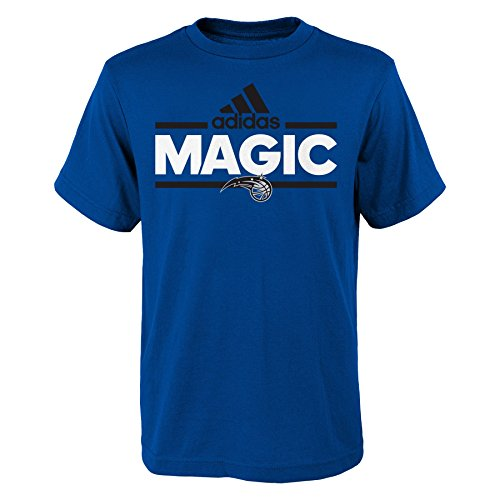 OuterStuff NBA Youth 8-20 Orlando Magic Replen Mini Dassler Short Sleeve Tee-Blue-S(8) - Orlando Magic Mini Basketball