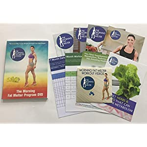 Morning Fat Melter Workout DVD for Women – Lose At Least 3 Pounds/Week With Our Weight Loss Program – 11 Workout Videos…