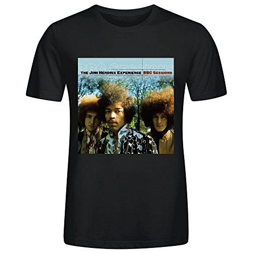 The Jimi Hendrix Experience Bbc Sessions Adult Men T-Shirt Black