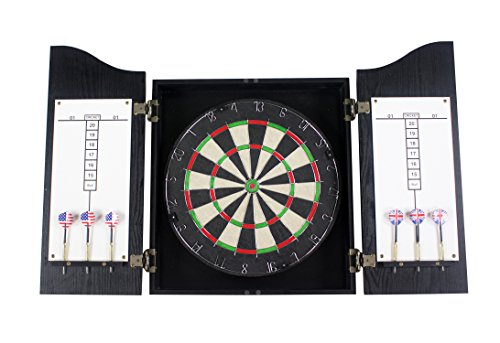 Heritage Bristle Dart Board Complete Set (Legacy Dartboard)