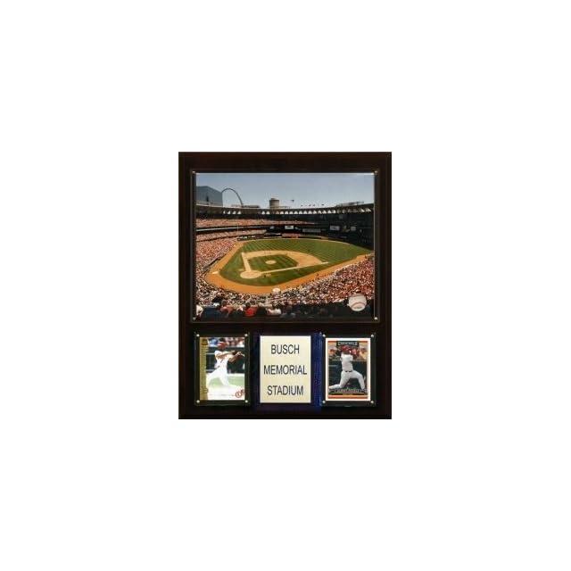 "St. Louis Cardinals Busch Memorial Stadium 12""x15"" Plaque  Sports Related Plaques  Sports & Outdoors"
