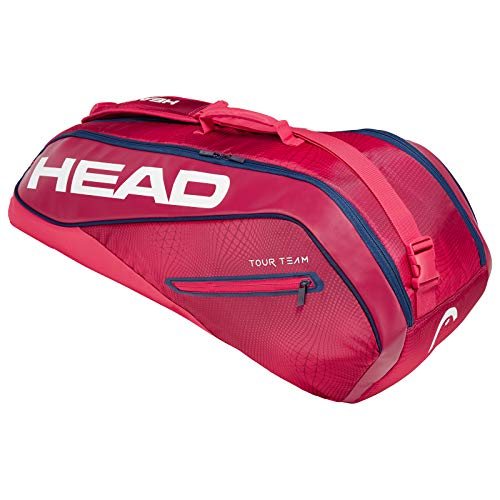 (HEAD Tour Team Combi 6 Racquet Bag (Red))