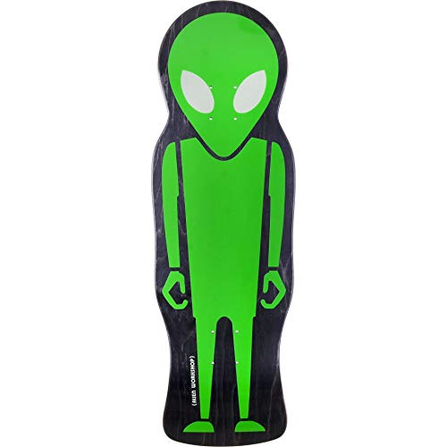 Alien Workshop Skateboard Deck Soldier Custom Die Cut ()