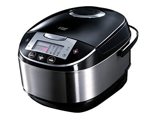 Russell Hobbs Cook@Home – Robot de cocina con función panificadora (900 W, 11 Programas, Acero Inoxidable, 5 l, Digital…