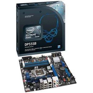 Intel Motherboard BOXDP55SB Intel P55 LGA1156 FSB1600 DDR3 PCI Express 2x16 Audio microATX (P55 Lga1156 Ddr3 Core)