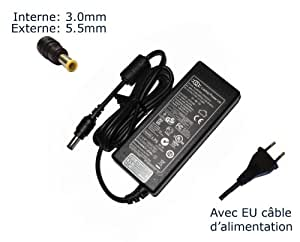 Laptop-Power-Adaptador de corriente para Samsung VM8100CX VM8100KXTD VM8110XTC X05 PLUS X05 XTC 1400-Power-Ordenador portátil (TM) de marca () con enchufe europeo