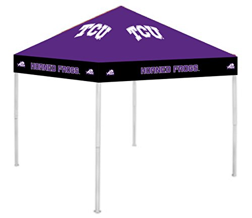Rivalry NCAA TCU Horned Frogs TCU - 9' x 9' Canopytcu - 9' x 9' Canopy, White, Large
