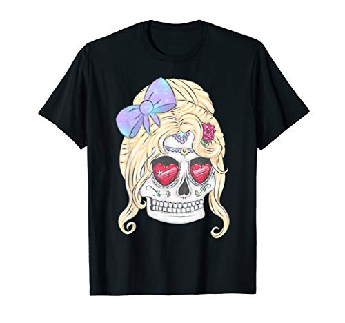 Beautiful Flower Sugar Skull, Day of the Dead -