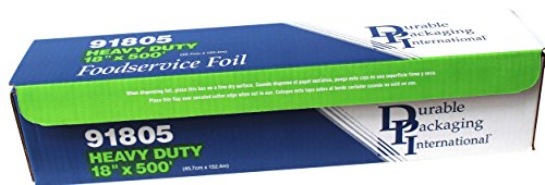 Heavy Duty Aluminum Foil Rolls - Durable Foil Heavy Duty Aluminum Foil Roll, 18