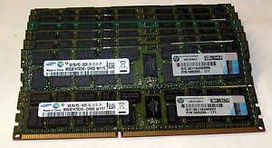 Samsung 8GB 2X4GB DDR3-1333MHz PC3-10600R 2Rx4 240Pin ECC REG Server Registered
