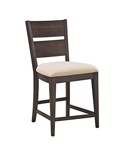 Food & Wine Reserve Collection Counter Height Chair (Set of 2), Ebony