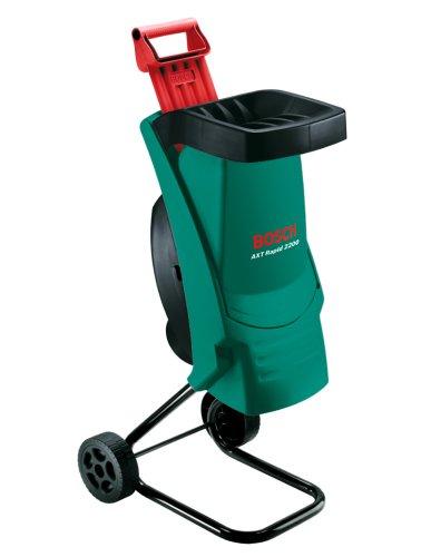 Bosch DIY Häcksler AXT Rapid 2200, Stopfer, Karton (2200 W, Materialdurchsatz 90 kg/h, max. Schneidekapazität-Ø 40 mm)