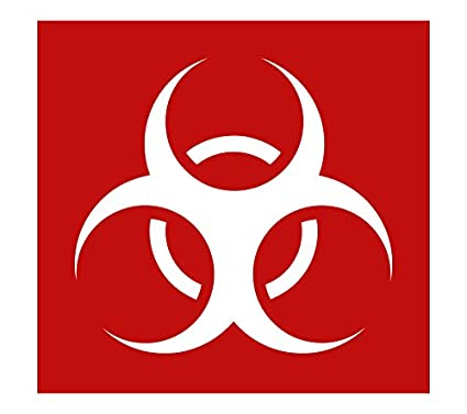 Amazon Auto Vynamics Stencil Zombies Biohazard Biohazard